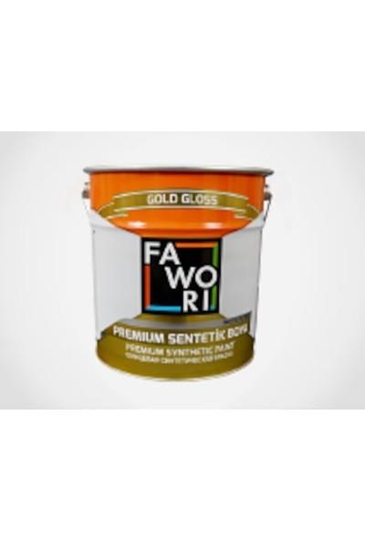 Fawori Premium Sentetik Yağlı Boya 0,75lt Koyu Kahve