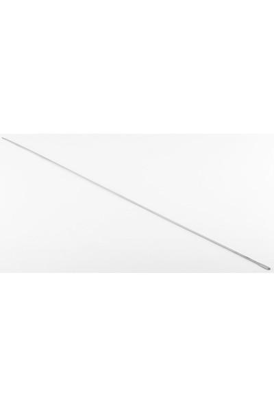 Gönen Çelik Gönen Çelik Paslanmaz Çelik Şiş 1 Adet 3 mm 60 cm Boy Ciğer Şiş
