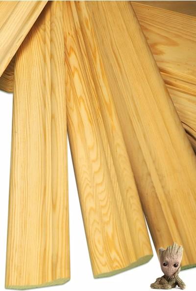 Grootland 100 cm Ahşap Geniş Süpürgelik 8 Lik