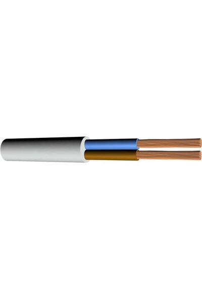 Hes Ttr Kablo 4X6 mm Beyaz H07Vv-F