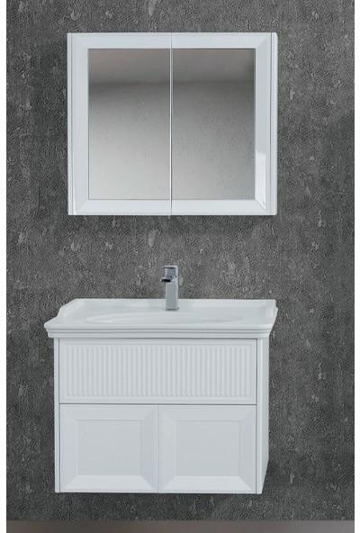Lineart Deco 100 cm Banyo Dolabı