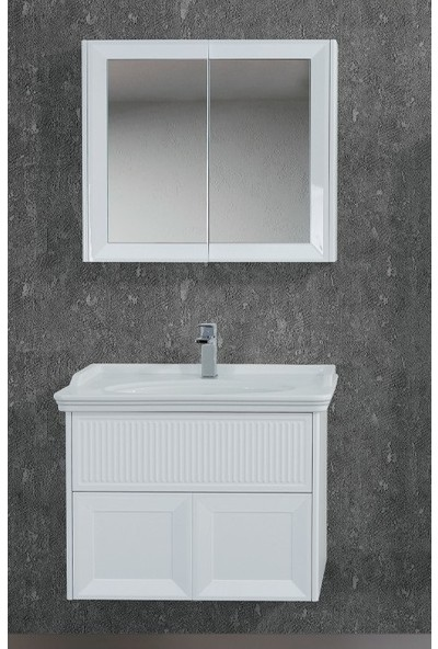 Lineart Deco 80 cm Banyo Dolabı