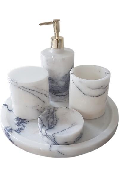 Toodecor Mermer Banyo Seti