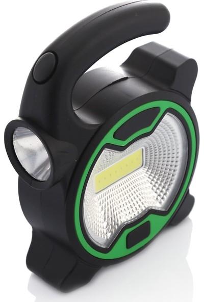Panther PT-915 1W Cob LED El Feneri Pilli