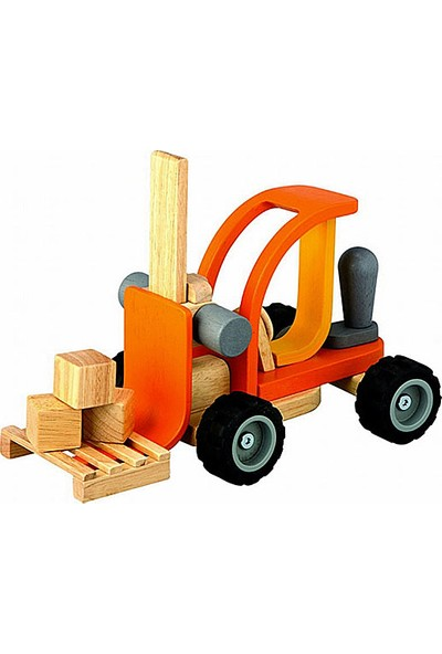 PlanToys Ahşap İş Makinesi Forklift