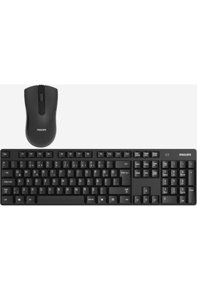 Philips C501 SPT6501B/00 Türkçe Q Kablosuz Klavye Mouse Seti