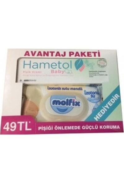 Hametol Baby Pişik Kremi 30 Ml+ Molfix Islak Mendil
