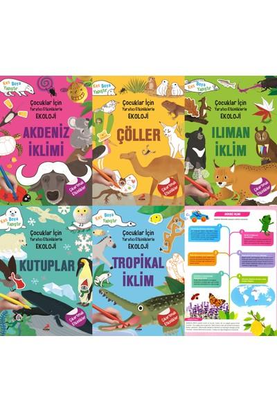 Çocuklar Için Yaratıcı Etkinliklerle Ekoloji Set - 3 - 6 Yaş