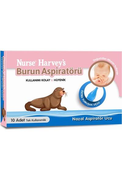 Nurse Harvey's Burun Aspiratör Ucu 10'lu - 2 Adet