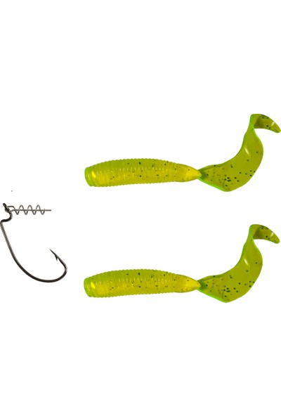 Kaptan Nemo Soft Worm C Set 10 cm Silikon Suni Yem 10 gr