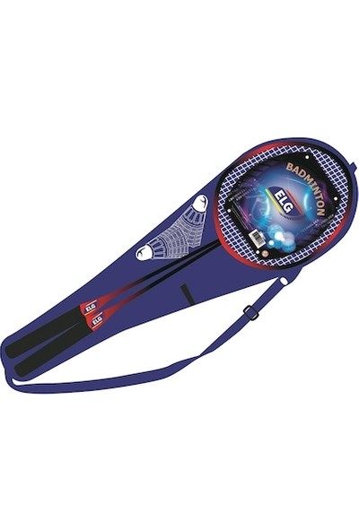 Elg Badminton Kılıflı Raket ve 2 Top