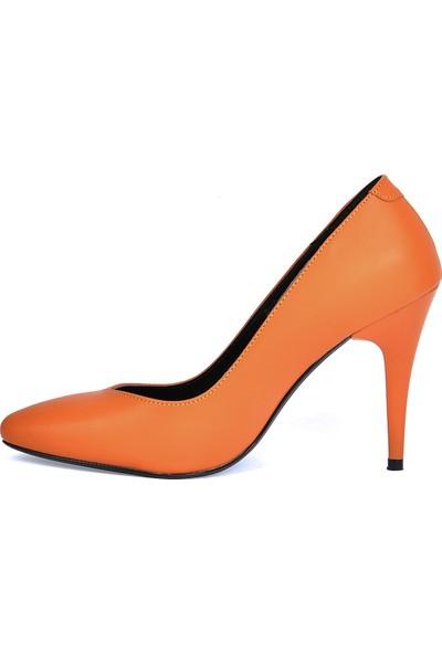 Ayakland 1943-72 Cilt 11 Cm Topuk Kadın Stiletto Ayakkabı