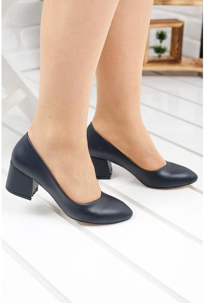 Ayakland 97544-312 Cilt 5 Cm Topuklu Kadın Ayakkabı