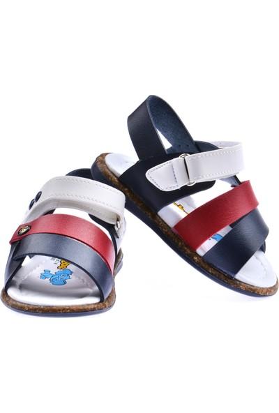 Kiko Şb 2359-68 Erkek Çocuk Ilk Adım Sandalet Terlik