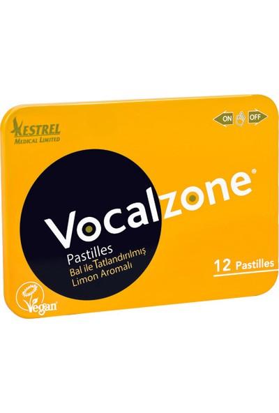 Vocalzone Ballı Limonlu 12 Pastil