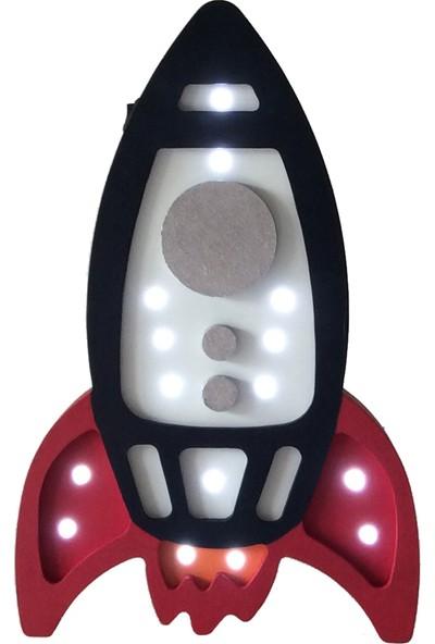 Ropilo Roket Gece Lambası - Pilli