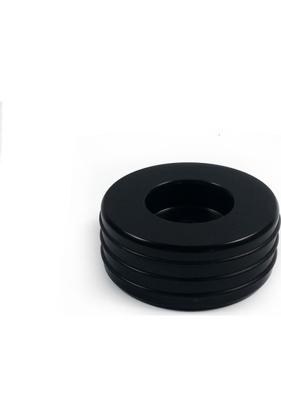 Çıtırtılı Sesler Plak Stabilizatörü + Alüminyum 45'lik Adaptörü
