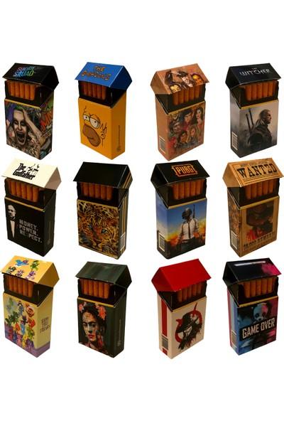 Fireroy Seri A Özel Tasarım Sigara Kılıfı Box Model