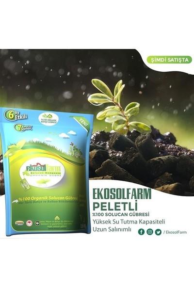 Ekosolfarm Organik Solucan Gübresi Pelet Form 1,5 kg