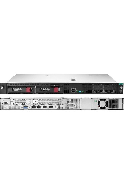 HP Proliant P17078-B21A2 DL20 GEN10 Intel Xeon E-2224 8GB-U 2x1 TB Sata S100I 2 Lff-Nhp 290W Ps