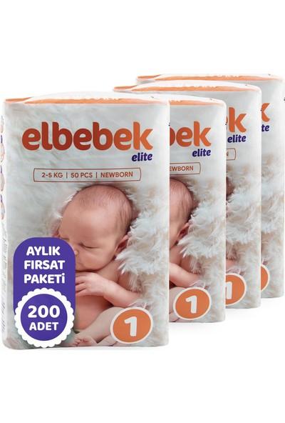 Elbebek Elite Bebek Bezi Yenidoğan 1 Beden 200'LÜ