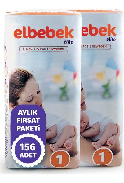 Elbebek Elite Bebek Bezi Yenidoğan 1 Beden 156'LI