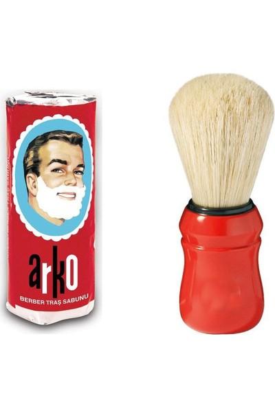 Arko Sakal Bıyık Tıraş Fırçası + Arko Tıraş Sabunu