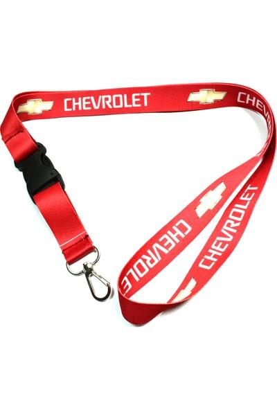 Trend Garaj Chevrolet Kırmızı Dikiz Aynası Askı İpi