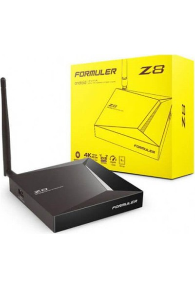Formuler Z8 Android 4K Tv Box