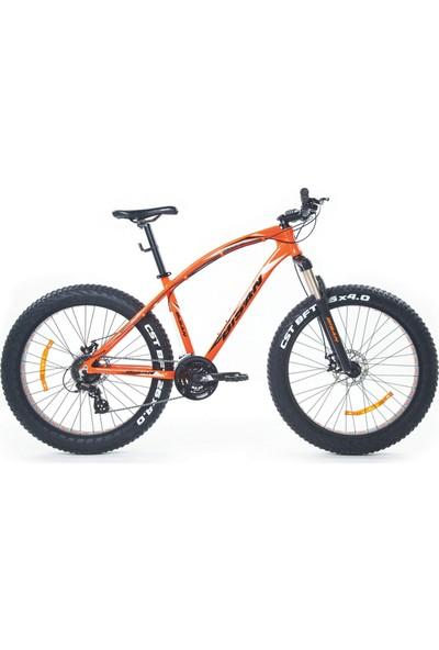 Bisan Savage Ft1 Fat Bike Bisiklet 26 Jant Turuncu