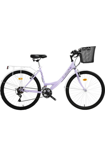 Bisan Cts 5100 Şehir Bisikleti 2020 Üretim 24 Jant Lila