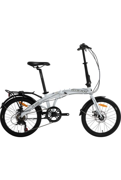 Bisan Fx 3600 Katlanır Bisiklet 2020 Üretim 20 Jant Beyaz
