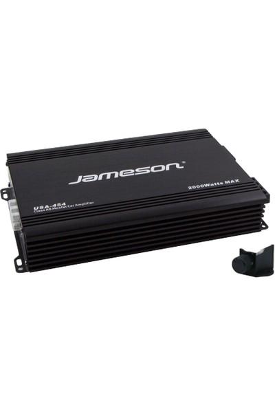 Jameson USA-454 4 Kanallı 2000W Oto Amfi