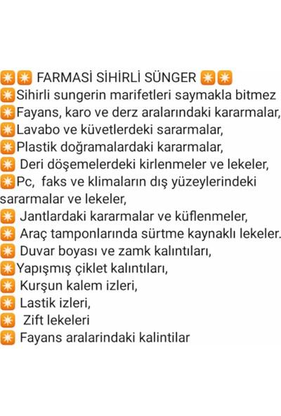 Farmasi Mr.wipes Sihirli Sünger - 8'li