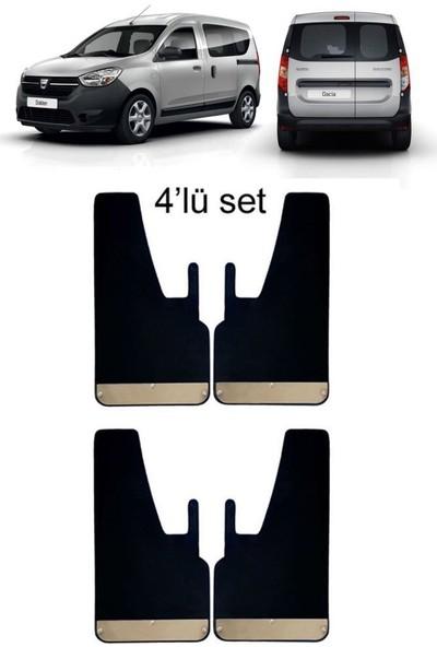 Yeni Dünya Dacia Dokker 4'lü Krom Paçalık Çamurluk Tozluk DAC0SX011