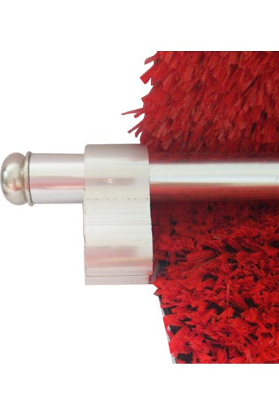 Forfloor Elit 1 Merdiven Halı Dip Çubuğu Takımı Ince Ayak Gümüş 90cm