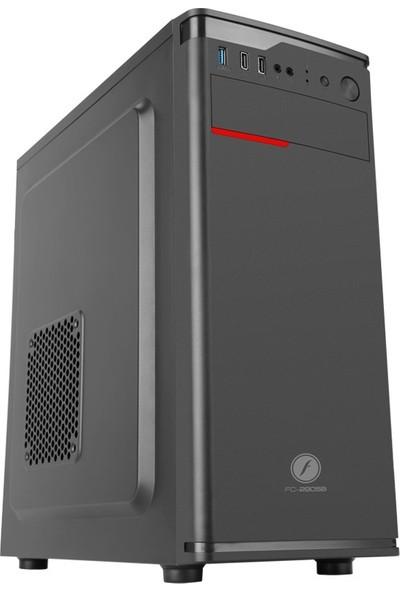 Asper Intel Core i3 9100 8GB 240GB SSD HD6450 Freedos Masaüstü Bilgisayar
