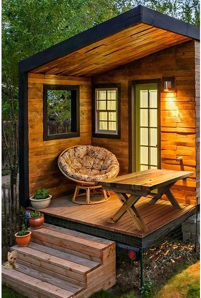 Grootland Ahşap Orta Sehpa Bahçe - Balkon - Mutfak Masası