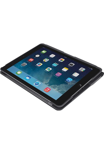 "Logitech 9.7"" iPad Air 2 Klavyeli Kılıf Canvas Black (Nordic Q) 920-007267"