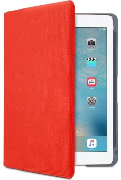 """Logitech 9.7"""" iPad Air 2 Klavyeli Kılıf Canvas Red (Nordic Q) 920-007279"""