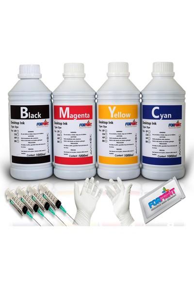 Forprint Epson Mürekkep L Serisi Yazıcılar 4x1000ml Dolum Seti 4 Renk