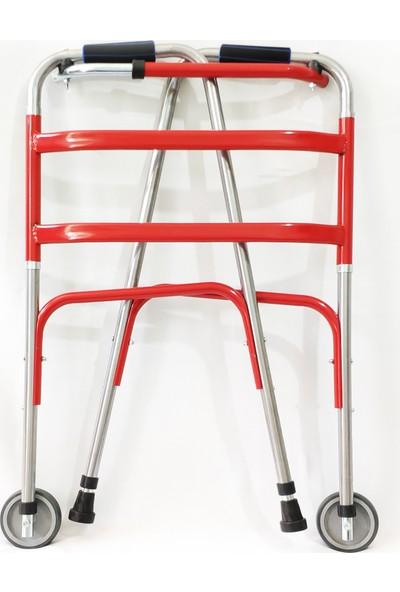Bir Ortopedi Tekerlekli Hasta Yuruteci
