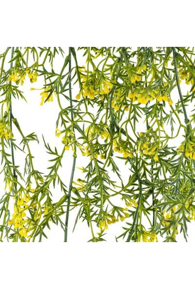 Euro Flora Yapay Sarmaşık Sarı Yeşil 82 cm
