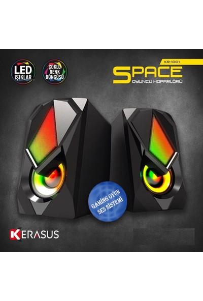 Kerasus KR-1001 1+1 Ledli Speaker