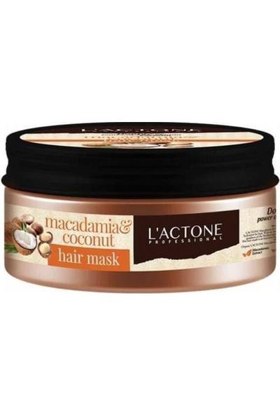 Lactone Macademia & Coconut Saç Maskesi 250 ml