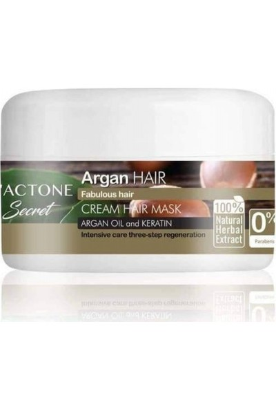 Lactone Argan Saç Maskesi 300 ml