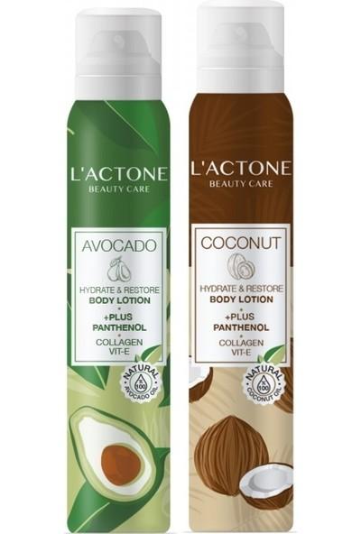 Lactone Avocado ve Coconut Panthenol Plus Body Lotion 200 ml