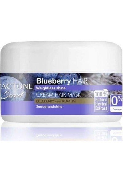 Lactone Blueberry Saç Maskesi 300 ml