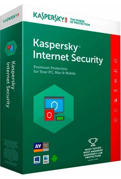 Kaspersky Internet Security 2020 - 1 Kullanıcı 1 Yıl - Dijital Lisans