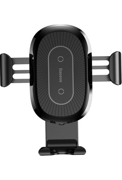 Baseus Heukji Wireless Charger Gravity Araç Tutucu Siyah
